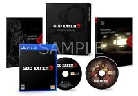 PS4 GOD EATER 3 First Press Limited Edition Game Japan NEW
