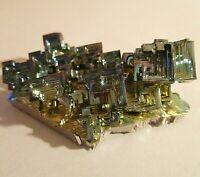 3.5oz/ 103G gram Bismuth rainbow crystal element Bi gemstone Mineral specimen A1