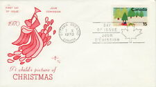 CANADA #530 15¢ CHRISTMAS 1970 FIRST DAY COVER
