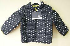 NWT Baby Gap Blue/White Polka Dot Poly Filled Jacket Size 5/5T