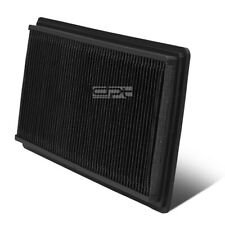 Fit 98-02 Chevy Camaro V6/V8 Black Reusable&Washable High Flow Panel Air Filter