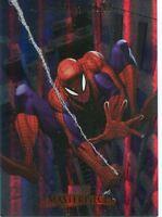 Marvel Masterpieces 2007 Fleer Foil Parallel Base Card #79 Spider-Man