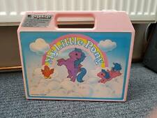 My Little Pony G1 Vintage Cassette Case with  Tapes & Books Bundle Mix Lot