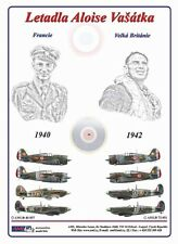 AML D48037 Decals 1/48 Alois Vašátko Spitfires Hawks and Hurricane (8)
