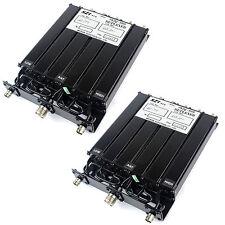2 * 25w380-470mhz UHF 6 Cavity Duplexer Ripetitore SL16 & connettore BNC per Motorola