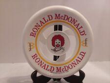 "1980 Ronald McDonald's Frisbee Disc Vintage Toy 8.25"""