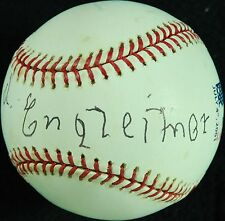 Leopold Engleitner Single-Signed OML Baseball (PSA/DNA)