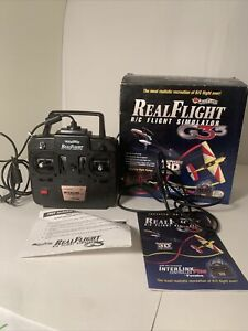 Great Planes RealFlight G3.5 R/C Flight Simulator with InterLink Plus Controller
