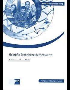 Prüfungen technischer Betriebswirt 2003 bis 2020