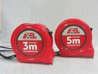 Axel flessometri autobloccanti clip in acciaio misure 3*16 mm - 5*19 mm New