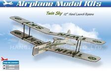 Aereo Biplano Twin Sky a Lancio a Mano XA04201