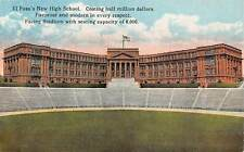 Texas El Paso's New High School Modern Fireproof Stadium