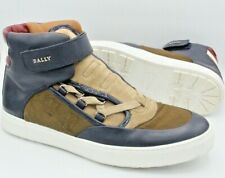 BALLY HIGH TOP SHOES SZ 10D NEVER WORN