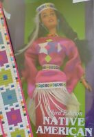 NATIVE AMERICAN BARBIE DOLLS OF THE WORLD DOTW 1994 sqwa INDIANERIN #12699  NRFB