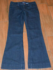 JUNIORS CANDIES Flare JEANS Size 7 Dark Wash Pants Style #CPA1AMAT Cute