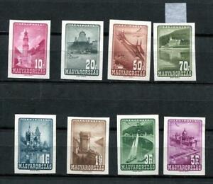 Hungary 1947 Sc C52 note Imperf CV $280 Mint 9644