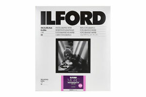 Ilford Multigrade V RC Deluxe Glossy - 8x10 Darkroom Printing Paper - 25 Sheets