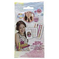 Disney Soy Luna Tattoo Beauty Set - For Girls Playset - New