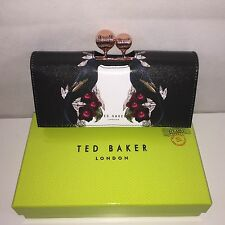 $165 Ted Baker London Bejewelled Shadow Print Matinee Wallet Clutch In Gift Box
