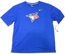NWT Nike MLB Toronto Blue Jays Blue Short Sleeve T-Shirt Adult Men's Size XXL