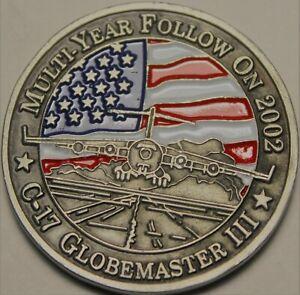 USAF Mobility Command Scotts Air Force Base Boeing C-17 Globemaster III Medal~FS