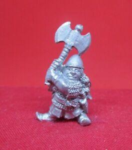 Warhammer WFB citadel metal 1985 D4 FEMALE DWARF ADVENTURER DIMGOL