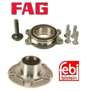 Front Left or Right Wheel Hubs with Bearings For Audi A4 A5 A8 Quattro Q5 S5 S8