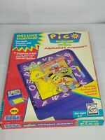 Pico Sega Game Cartridge Sesame Street Alphabet Avenue Gaming Vintage 1994 CIB