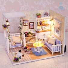 DIY Handcraft Miniature Project Wooden My Little Kitten's Play Room Dolls House