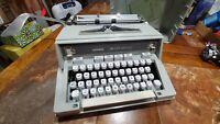 Hermès Vintage 3000 Typewriter Sea Foam Green with case - RARE ITEM