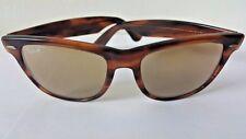 B&L Ray-Ban Bausch & Lomb U.S.A 50 Tortoise Shell Wayfarer RB-50 Sunglasses