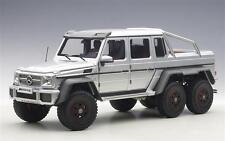 1:18 AUTOart Mercedes-Benz G63 AMG 6x6 PLATA - PLATA