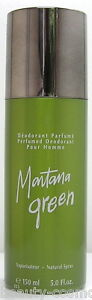 Montana green homme Deodorant/Deodorant Spray 150 ML