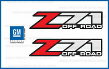 2001 - 2006 Chevy Silverado Z71 Off Road decals - F - stickers 1500 chevrolet