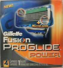 Gillette Fusion Proglide Power Men's Razor Blade Refills 4 Count 5 Blade Shaving