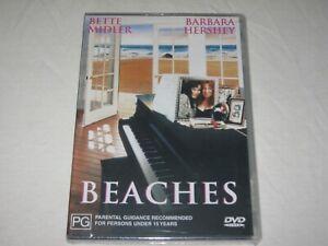 Beaches - Bette Midler - Brand New & Sealed - Region 4 - DVD