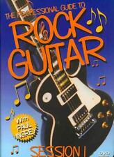 The Professional Guide To Rock Guitar - Session 1 New Dvd