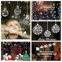 Christmas Wall Art Removable Home Window Wall Stickers Decal Xmas Decor Kid Gift