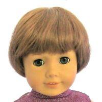 Expressions JENNY Auburn Size 10-11 Full Cap Short Bob + Bangs, Unisex, Boy Girl