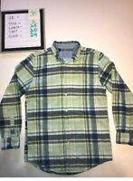 Saddlebred Mens Multicolored Long Sleeve Button Down Shirt Size Small E6-10