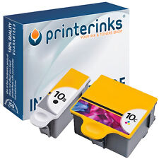2 No. 10 Compatible Black & Colour Printer Ink for Kodak HERO 9.1 7.1 6.1