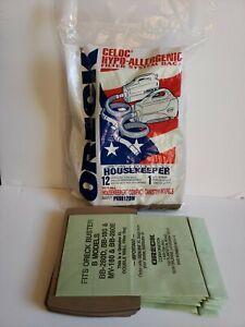 Oreck PKBB12DW Vaccum Cleaner Bag - Pack of 12 plus 5 bonus bags