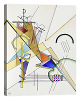 Wassily Kandinsky Gewebe Stampa su tela Canvas effetto dipinto