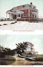 Biddeford Maine New Trull Hospital Multiview Antique Postcard K15735