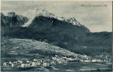 1933 Pelos di Cadore - Pelos m 785, poesia Giulio Lokmann - FP B/N VG