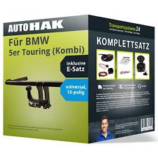 Anhängerkupplung abnehmbar für BMW 5er Touring (Kombi) +E-Satz Kit NEU