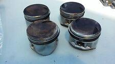 Used 1998 Yamaha 50hp 4 Cylinder 4 Stroke Piston & Rings Set of 4  Freshwater