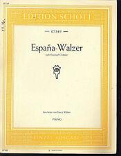 Espana-Walzer nach Emanuel Chabrier