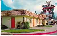 "Durango CO  ""The Royal Motel"" Postcard Colorado  *FREE US SHIPPING"