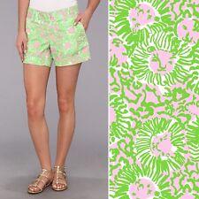 512c5acd8d Lilly Pulitzer Callahan Green Pink Sunnyside Lion Print 5